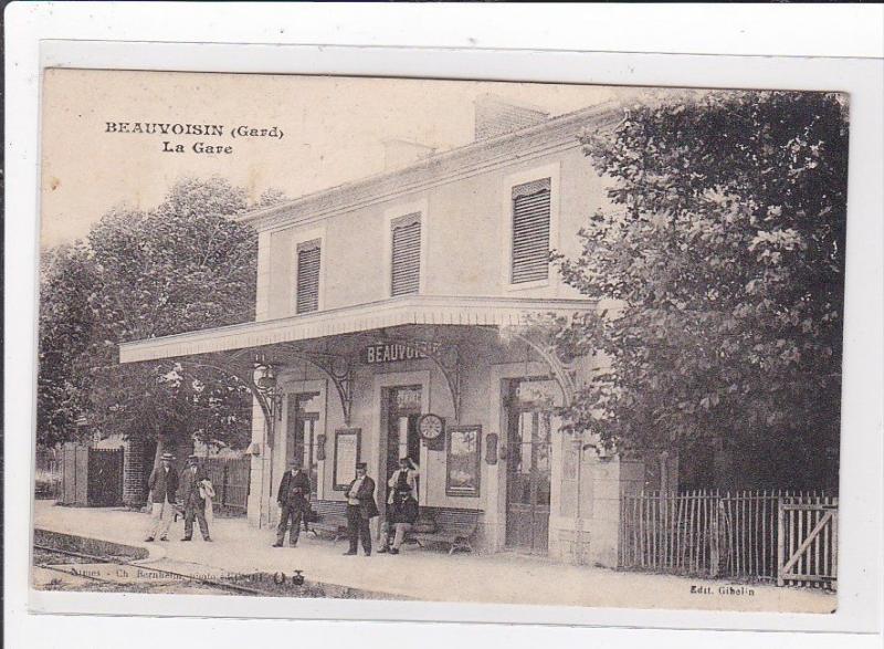 BEAUVOISIN : la gare (GARE) - tres bon etat