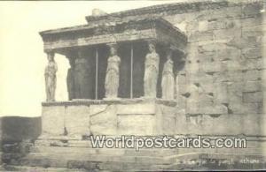 Greece Caryatide Porch Athens Caryatide Porch