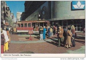 Cable Car Turntable San Francisco California
