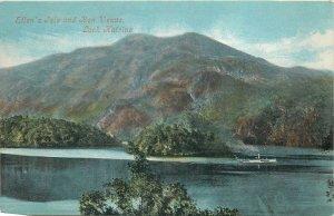 Postcard UK England Ellen Isle Loch Katrine, Perthshire