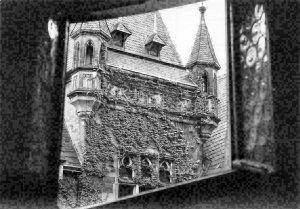 Feudalmuseum, Schloss Wernigerode Innenhof Haupttreppenhaus