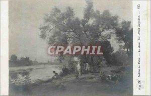 Old Postcard Paris Salons Le Bain by Albert Dagnaux