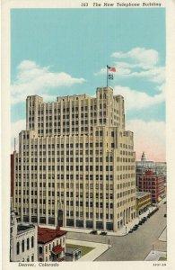 DENVER , Colorado , 1910s; New Telephone Building