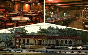 New Jersey Parsipanny The Par-Troy Restaurant Diner Showing Dining Room and L...