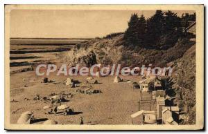 Postcard Old Saint Michel Chef Chef The Beach