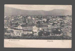 081326 TURKEY SMYRNE-IZMIR City centre view Vintage PC