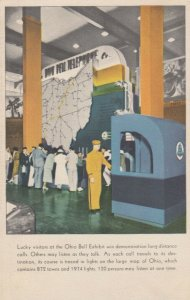 CLEVELAND, Ohio, Great Lakes Exposition , 30s ; Ohio Bell Telephone Exhibit