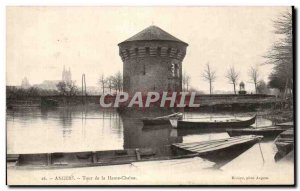 Old Postcard Angers Tour Upper Chain