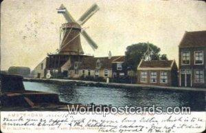 Krijtmolen a d Baarsjes Amsterdam Netherlands 1906