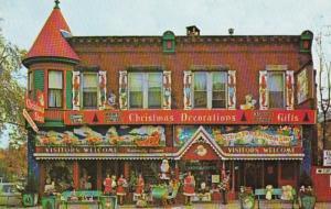 Pennsylvania Smethport Leonard Brynolf Johnson Christmas Store