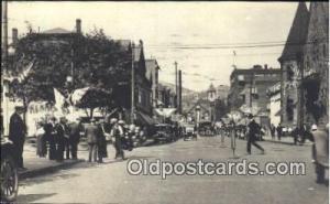 Unknown Location, Parade, Parades, Postcard Postcards