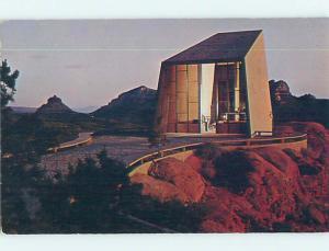 Unused Pre-1980 CHURCH SCENE Sedona Arizona AZ p3484