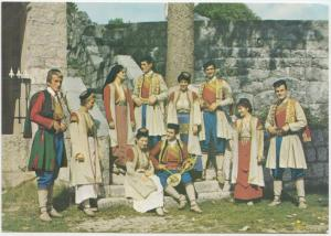 Montenegrin national costumes, 1974 used Postcard