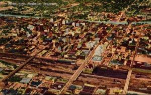 Tennessee Nashville Aerial View Curteich