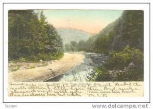 Green River Road, Greenfield, Massachusetts, 1908