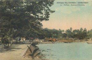 Guinea postcard Conarky Bolbine Circular Boulevard