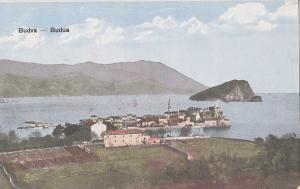 Montenegro Budva Budua early postcard