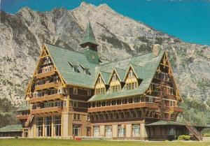 Canada Alberta Prince Of Wales Hotel Waterton National Park