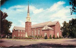 First Baptist Church Boise Idaho ID Chrome Postcard