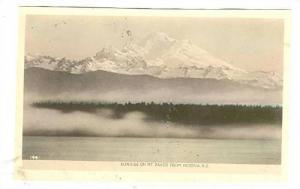 RP; Sunrise on Mt. Baker from Victoria, British Columbia, Canada, 20-40s