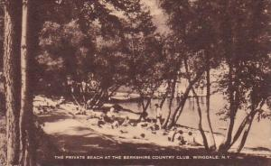New York Wingdale The Private Beach At The Berkshire Country Club Artvue