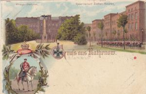 Gruss aus RATHENOW , Germany ,  1890s