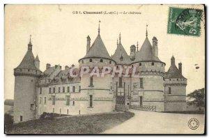 Old Postcard Chaumont Le Chateau