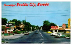 Nevada Boulder  City  , Nevada Highway , many Motels