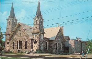Chincoteagua Virginia~Union Baptist Church~No Not Enter Sign~1950s Postcard