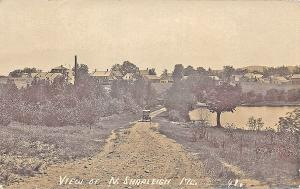 View of North  Shapleigh ME Dirt Road Eastern Illustrating RP Postcard