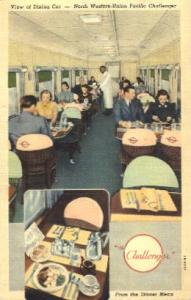 The Challenger, Chicago, USA Restaurant & Diner Postcard Postcards  The Chall...