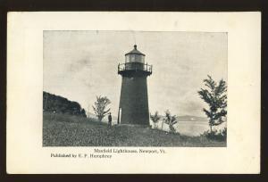 Newport, Vermont/VT Postcard, Maxfield Lighthouse/Light