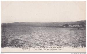 View Taken From Kara-Bournou Cape, Salonique (Salonica), Greece, 1900-1910s