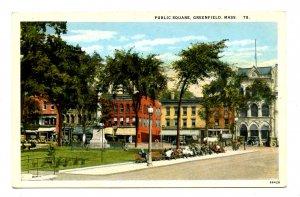 MA - Greenfield. Public Square