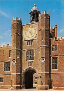 Hampton Court Palace Anne Boleyn's Gateway and The Astronomical Clock