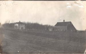 Hartley Iowa Farm House Real Photo Antique Postcard (J26716)