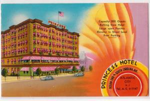Princess Hotel, Atlantic City NJ