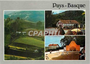 Modern Postcard The Basque Country Pyrenees Atlantiques Ascain Surroundings A...
