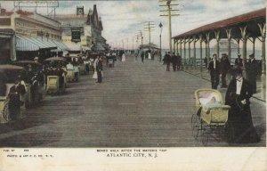 ATLANTIC CITY , New Jersey , 1901-07; Board Walk after the Mayor's Trip