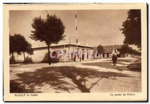Mailly le Camp - The Post Poice - Old Postcard