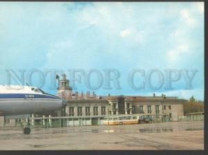 115987 Russia Tatarstan KAZAN Airport TU-124 plane old photo