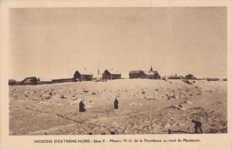 Missions D´Extreme Nord, Serie II, Mission N.-D. De La Providence Au Bord Du...