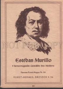 113253 Self-Portrait Esteban MURILLO Spanish painter Old COVER