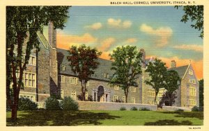 NY - Ithaca. Cornell University. Balch Hall