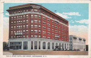 North Carolina Greensboro The O Herry Hotel And Annex 1924
