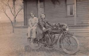Real Photo  Indian Motocycle