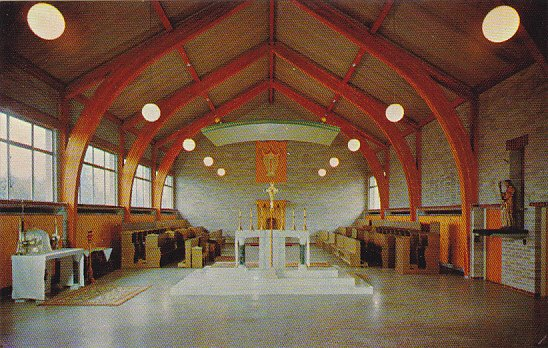Canada Monastic Refectory Westminster Abbey Mission City British Columbia
