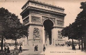 L'Arc de Triomphe,Paris,France BIN