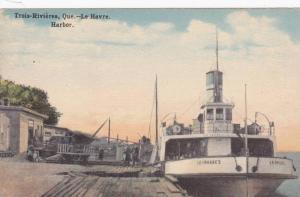 Harbor, Le Havre, Trois-Rivieres, Quebec, Canada, 1900-1910s