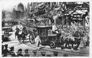 Their Majesties Silver Jubilee 1910-1935 Speaker's Coach in Royal Procession,,,